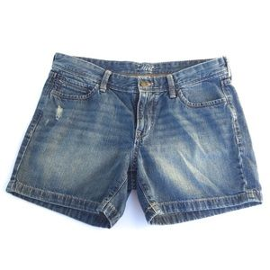 Old Navy Jean Shorts 100% Cotton Denim Blue